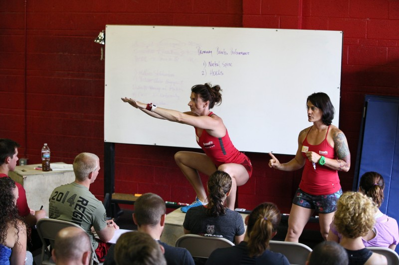 The CrossFit L1 Trainer Course. Photo Credit: Colleen Baz