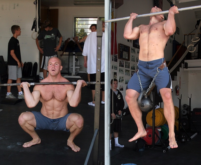 Thrusters and pull-ups are basically the same as leg extensions and bicep curls, right?
