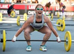 Ruth Anderson Horrell. Photo Credit: Games.CrossFit.com