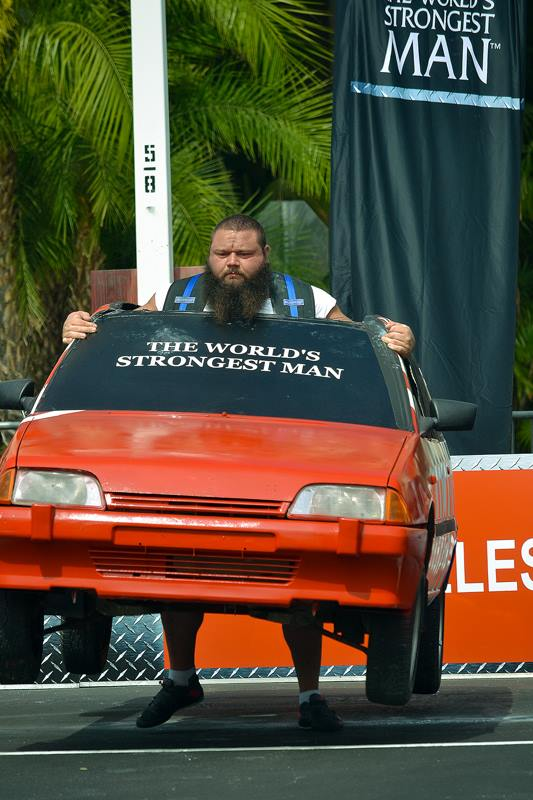Robert Oberst at the 2013 World's Strongest Man competition.
