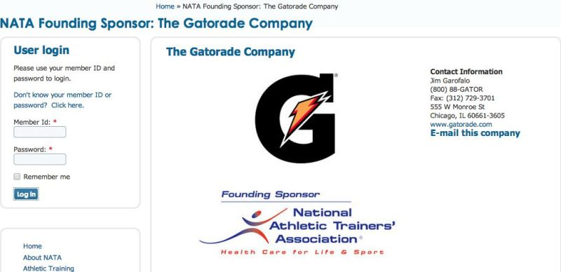 Source: http://www.nata.org/nata-founding-sponsor-gatorade-company
