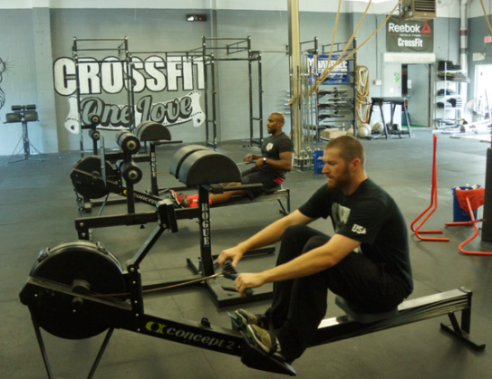 Wade Davis Trains at CrossFit One Love in Montgomery, NY