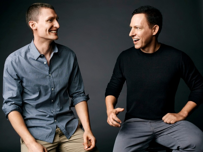 Blake Masters and Peter Thiel.