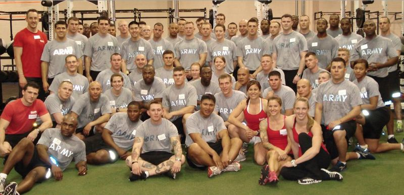 It's not hard to see why the ACSM is concerned about CrossFit's relationship with the military.
