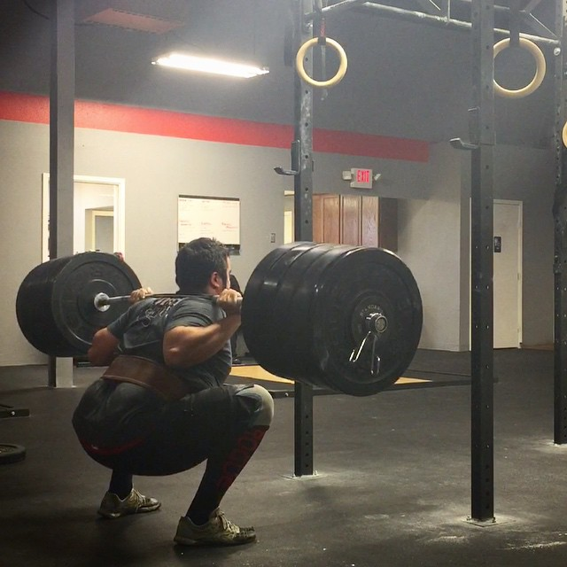 David Barnett didn't know how to deadlift when he walked into a CrossFit gym. Now he squats 430.