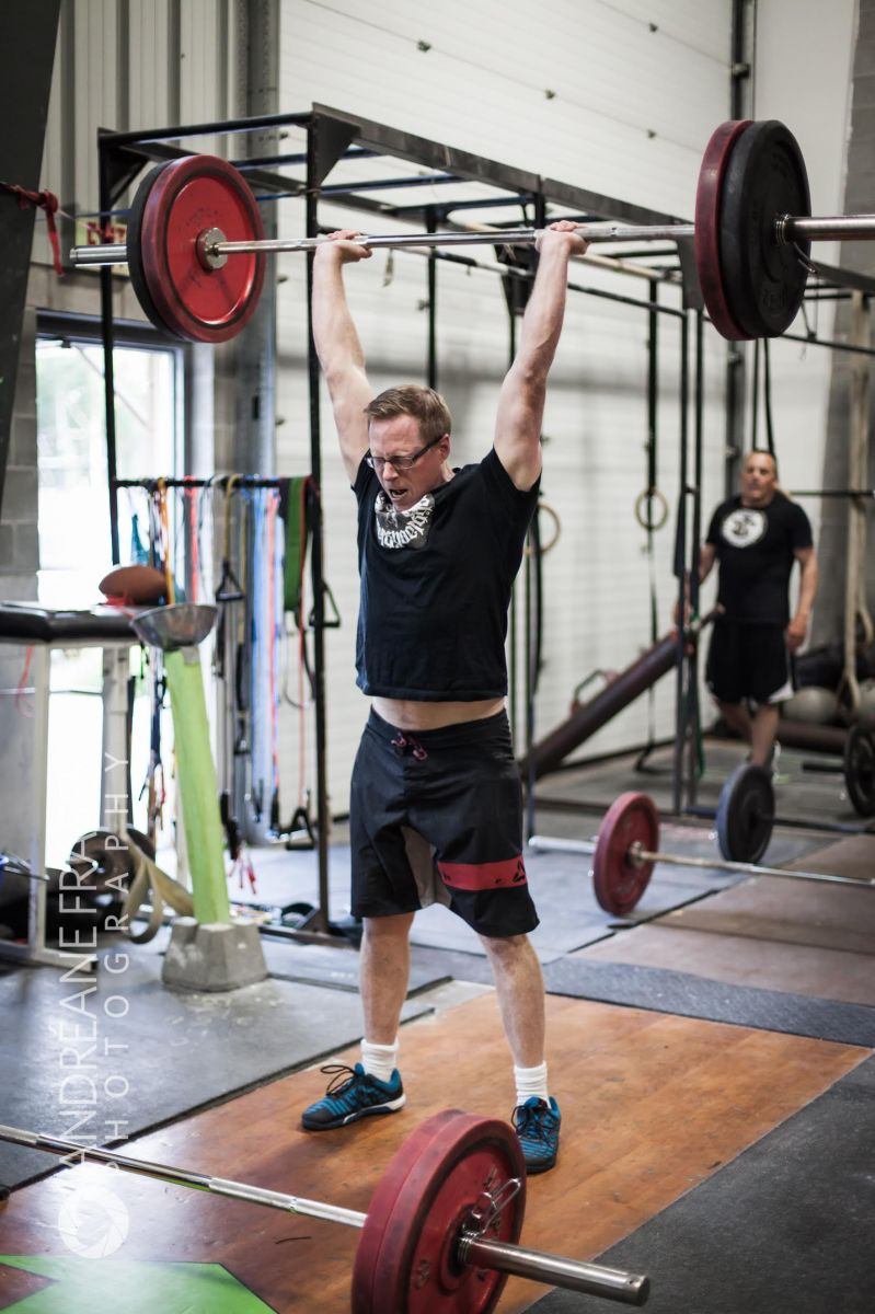 When Chris and his gym faced competition, they recommitted to improvement.