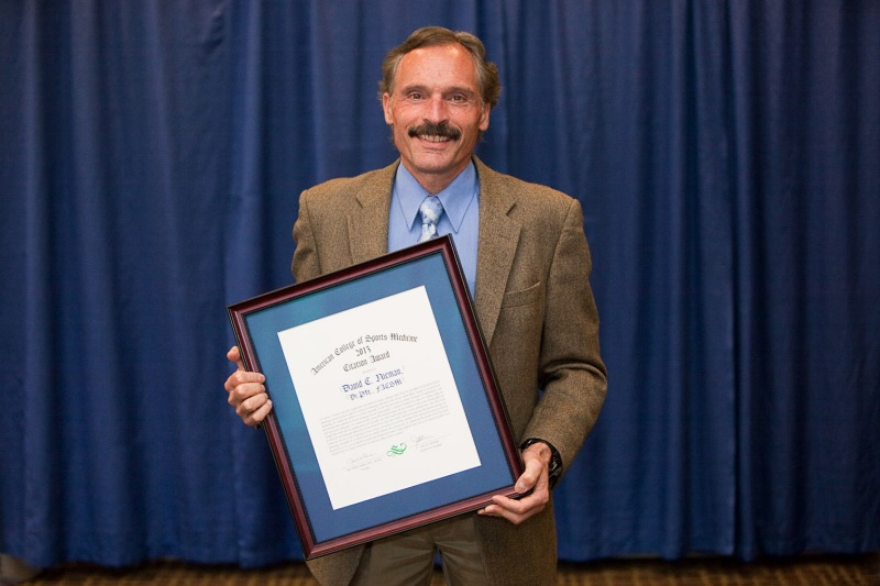 Dr. Nieman receives an ACSM award: http://healthsciences.appstate.edu/news-events/519