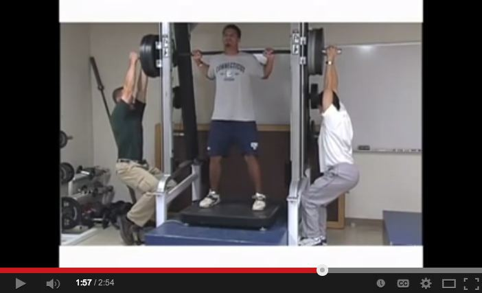 An NSCA experiment. William Kraemer started to doubt these methods:  http://bit.ly/1687GaE