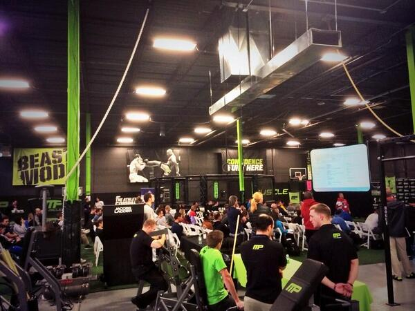 NSCA's state clinic at Musclepharm HQ: https://twitter.com/theathletesdoc/status/433047893998452736