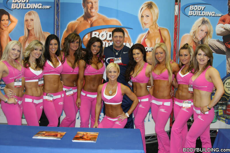Bodybuidling.com's booths remain popular despite the brand's criminal history with steroids: http://www.bodybuilding.com/fun/images/2007/filer_arnold_overall_a.jpg