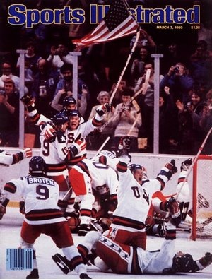 The Miracle on Ice: http://en.wikipedia.org/wiki/Miracle_on_Ice