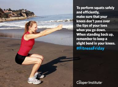 The Cooper Institute's squat instruction: https://www.facebook.com/TheCooperInstitute/photos/pb.34668868878.-2207520000.1433252716./10153121288208879/?type=3&theater
