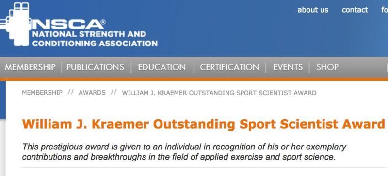 Source: http://www.nsca.com/annual-awards/william-kraemer/