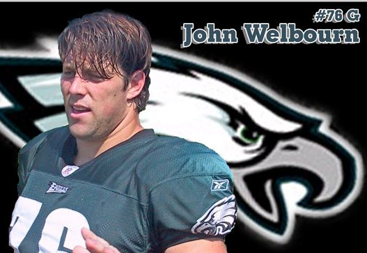 CrossFit Football SME John Welbourn played for the Eagles: http://www.prosportsfix.com/wp-content/uploads/2013/09/Welbourn3237A.jpg