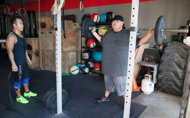 Jerry Sandoval at CrossFit 858: http://library.crossfit.com/free/pdf/September_Compilation_REV.pdf