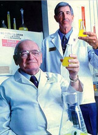 Gatorade sued its own Inventor. http://nephrology.medicine.ufl.edu/resources/visiting-professorships/j-robert-cade/