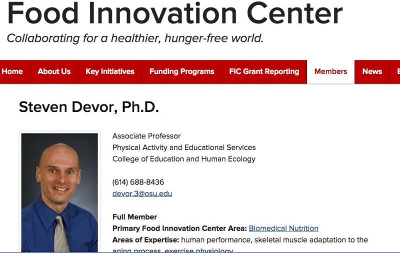Dr. Devor: http://fic.osu.edu/members/directory/d/devor-steven.html
