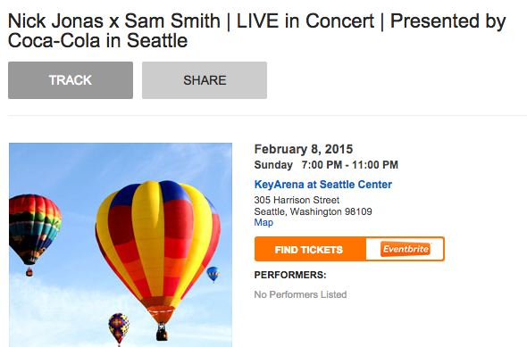 http://seattle.eventful.com/events/nick-jonas-x-sam-smith-live-concert-presented-/E0-001-078391813-5