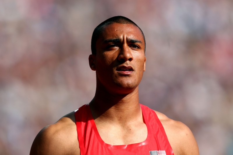 Olympic Decathlete Ashton Eaton has run 1500m in 4:14 and thrown a 16-pound shot over 50 feet.