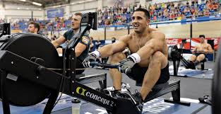 Former CrossFit champion Jason Khalipa can row 21,097 meters in 1:18:02 and clean and jerk 355 pounds.