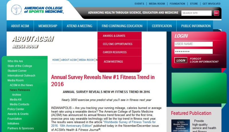 Source: https://www.acsm.org/about-acsm/media-room/news-releases/2015/10/26/annual-survey-reveals-new-1-fitness-trend-in-2016