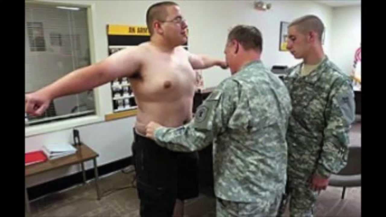 Fat army man